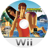 Runaway: The Dream of the Turtle Wii disc (RWYPHH)