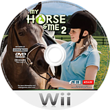 My Horse & Me 2 Wii disc (RX2P70)