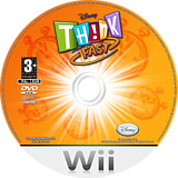 Disney Th!nk Fast: The Ultimate Trivia Showdown Wii disc (RXDX4Q)