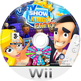 TV Show King Party Wii disc (RXKPGL)