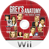 Grey's Anatomy: The Video Game Wii disc (RXLP41)