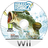 Big Catch Bass Fishing 2 Wii disc (RXNPGT)