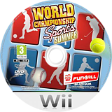 World Championship Sports: Summer Wii disc (RY5P52)