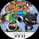 Ninja Captains Wii disc (RY7PHZ)