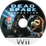 Dead Space: Extraction Wii disc (RZJP69)