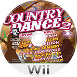 Country Dance 2 Wii disc (S2BPXT)