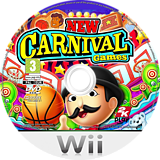 New Carnival Funfair Games Wii disc (S2CP54)