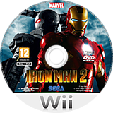 Iron Man 2 Wii disc (S2IP8P)