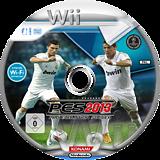 Pro Evolution Soccer 2013 Wii disc (S3IXA4)
