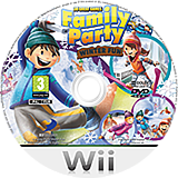 Family Party: 30 Great Games Winter Fun Wii disc (S3WPG9)