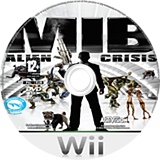 Men In Black: Alien Crisis Wii disc (S3ZP52)