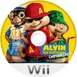 Alvin and the Chipmunks: Chipwrecked Wii disc (SA3P5G)