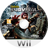 Cabela's Survival: Shadows of Katmai Wii disc (SAJP52)