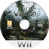 Alice in Wonderland Wii disc (SALP4Q)