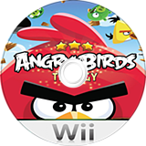 Angry Birds Trilogy Wii disc (SAWP52)