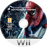 The Amazing Spider-Man Wii disc (SAZP52)