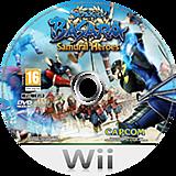 Sengoku Basara: Samurai Heroes Wii disc (SB3P08)