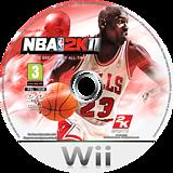 NBA 2K11 Wii disc (SB5P54)
