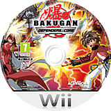 Bakugan: Defenders of the Core Wii disc (SB6P52)