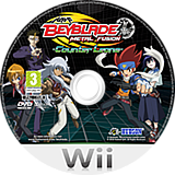 Beyblade: Metal Fusion - Counter Leone Wii disc (SBBP18)