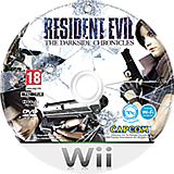 Resident Evil: The Darkside Chronicles Wii disc (SBDP08)
