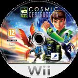 Ben 10: Ultimate Alien Cosmic Destruction Wii disc (SBJPAF)