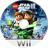 LEGO Star Wars III: The Clone Wars Wii disc (SC4P64)