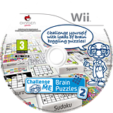Challenge Me: Brain Puzzles 2 Wii disc (SC6PGN)