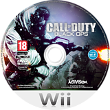 Call of Duty: Black Ops Wii disc (SC7D52)