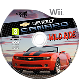 Chevrolet Camaro: Wild Ride Wii disc (SCXPNJ)