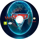 Cars 2 Wii disc (SCYX4Q)