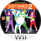 Just Dance 2 Wii disc (SD2P41)