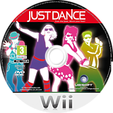 Just Dance Wii disc (SDNP41)