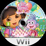 Dora's Big Birthday Adventure Wii disc (SDPP54)