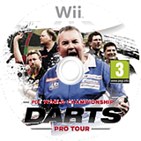 PDC World Championship Darts: Pro Tour Wii disc (SDTPGN)