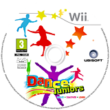 Dance Juniors Wii disc (SDZP41)