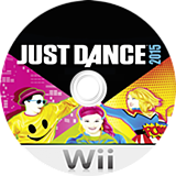 Just Dance 2015 Wii disc (SE3P41)