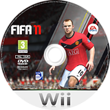 FIFA 11 Wii disc (SELP69)