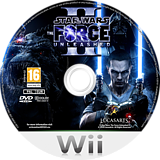 Star Wars: The Force Unleashed II Wii disc (SF2P64)