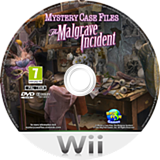 Mystery Case Files: The Malgrave Incident Wii disc (SFIP01)