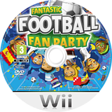 Fantastic Football Fan Party Wii disc (SFPPFR)