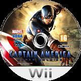 Captain America:Super Soldier Wii disc (SFQP8P)