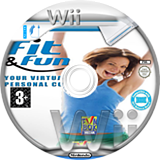 Fit & Fun Wii disc (SFRPXT)