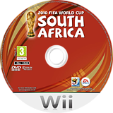 2010 FIFA World Cup South Africa Wii disc (SFWX69)