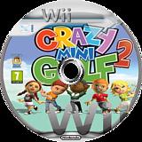 Crazy Mini Golf 2 Wii disc (SG2XUG)