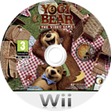 Yogi Bear: The Video Game Wii disc (SG8PAF)