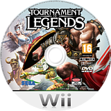Tournament of Legends Wii disc (SGAP8P)