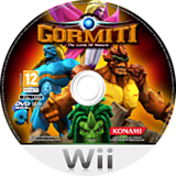 Gormiti: The Lords of Nature! Wii disc (SGLPA4)