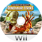Combat of Giants: Dinosaurs Strike Wii disc (SGXP41)