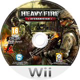 Heavy Fire: Afghanistan Wii disc (SH4PNK)